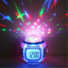 Kids Bedroom Rocketship Projection Alarm Clock Room Projector Rocket Ship Toy For Sale Online Ebay
