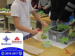 PICS: RHS Class harvest 5 CFPP Bins sponsored by Sonya Hamilton State Farm  | ReBuildUp