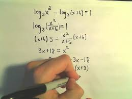 logarithmic functions solutions