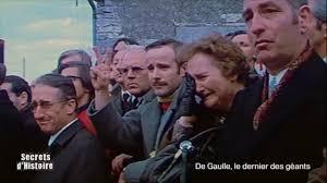 Secrets d'Histoire - De Gaulle, le dernier des géants - La mort du ...