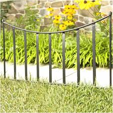 Ubalda Metal Fence Panel In 2020 Garden Fence Panels Metal Fence Panels Landscape Borders