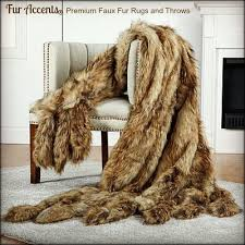 fake sheepskin rugs fur accents