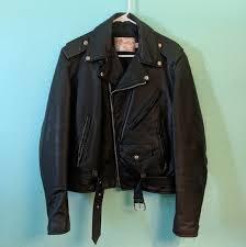 vintage mens leather jacket