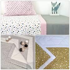 Penelope + Fox — Reversible Cot Quilts