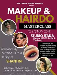 indian bridal makeup course in penang