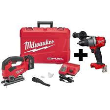 Home Depot Milwaukee Brushless M18 Free Tool Or Battery Promotion M18 Fuel Jig Saw 5ah Battery Charger And M18 Fuel Hammer Drill 299 More Deals At Link Below
