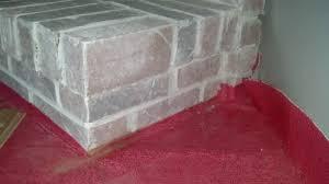 how do i cut a brick fireplace hearth