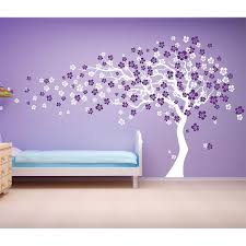 Cherry Blossom Tree Wall Decal Tree Wall Decal Purple Walls Wall Decals