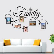 Removable Photo Frame Wall Sticker Vinyl Decal The Memories Frames For Picture Family Stickers Home Decor Living Room N Frame Aliexpress