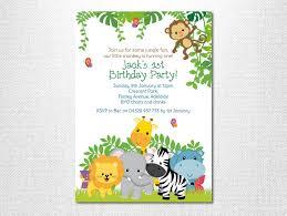 Jungle Birthday Jungle Invitation Ot Lovestoryinvitations