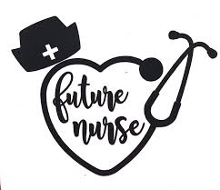 Amazon Com Custom Future Nurse Stethoscope Vinyl Decal Nursing Student Bumper Sticker For Tumblers Laptops Car Windows Nursing Hat Sticker Pick Size And Color Handmade