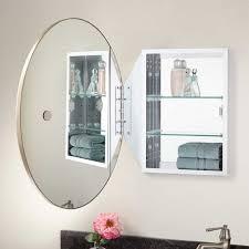 favaloro oval mirror medicine cabinet