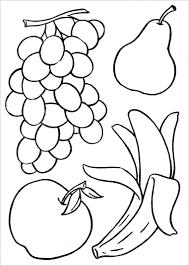 Tranh tô màu hoa quả, trái cây đẹp và đơn giản cho bé - Zicxa hình ảnh