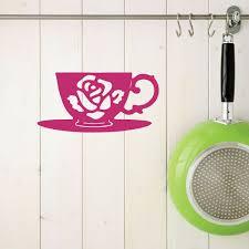 Kitchen Wall Sign Tea Vinyl Decor Wall Decal Customvinyldecor Com