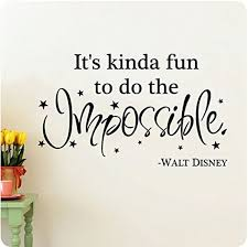 38 It S Kinda Fun To Do The Impossible Walt Disney Etsy