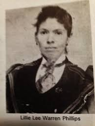 "Felecia Lee ""Lillie"" Warren Phillips (1865-1902) - Find A Grave Memorial"