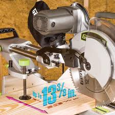 12 Dual Bevel Sliding Compound Miter Saw Genesis Power Tools
