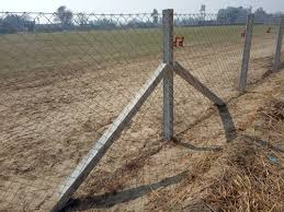Square Cement Fencing Pole 7 5 Ft Fencing Pole फ न स प ल फ न स क खम ब M S Ram Kumar Balachaur Id 12198030273