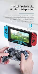 Bộ Điều Khiển Trò Chơi Baseus Cho Bộ Chuyển Đổi Nintendo/Switch Lite Tay  Cầm Chơi Game Không Dây Bluetooth Bàn Điều Khiển Cầm Tay Cho Máy Tính Để  Bàn NS Tay Cầm