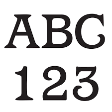 Hillman 4 In Vinyl Letters And Numbers 843439 The Home Depot