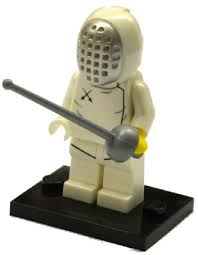 Bricklink Set Col13 11 Lego Fencer Series 13 Complete Set With Stand And Accessories Collectible Minifigures Series 13 Minifigures Bricklink Reference Catalog