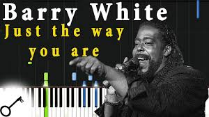 Barry White - Just the way you are [Piano Tutorial] Synthesia