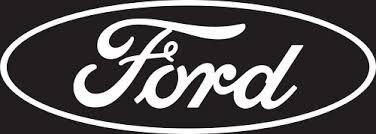 Chroma 4306 Ford Logo Cutz Rear Window D Buy Online In Israel At Desertcart