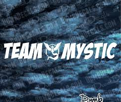 Team Mystic Pokemon Go Windshield Decal Dumbdecals Com