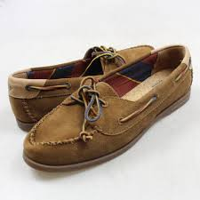 sperry top sider brown leather boat