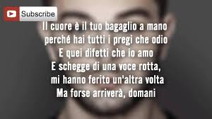 Lorenzo Fragola - Siamo uguali [Lyrics - Testo] - YouTube