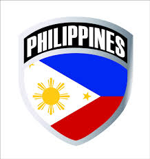 Philippines Filipino Flag Shield Decal Badge Car Motorcycle Decal Sticker Wish