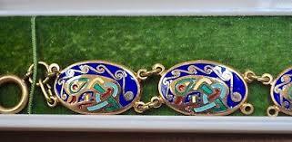 tara ware of dublin enamel bracelet