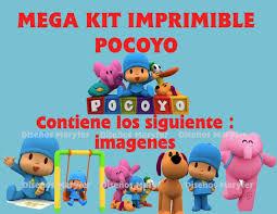 Invitaciones De Cumpleanos Pocoyo Para Dedicar 10 Invitaciones