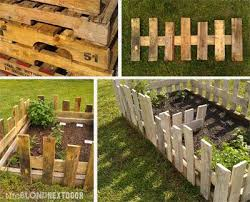 The Blond Next Door Building A Raised Garden Pallet Garden Vegetable Garden Raised Beds