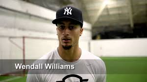 Wendall Williams, NFL hopeful and Syracuse native, works out - YouTube