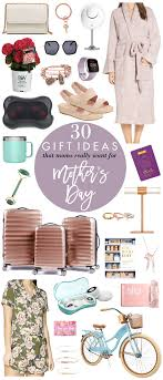 30 gift ideas moms really want for