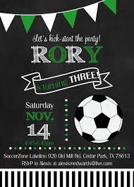 Rory S Happy Day Invitaciones De Futbol Invitaciones De