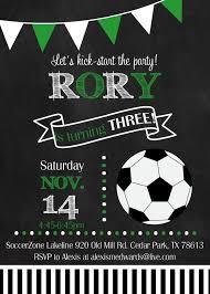 Rory S Happy Day Con Imagenes Invitaciones De Futbol