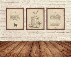 velveteen rabbit wall art velveteen