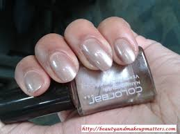 colorbar nail lacquer mulberry 21