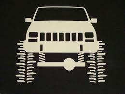 For X2 For Jeep Cherokee Xj Sport Rock Crawler Sticker Decal Car Stickers Aliexpress