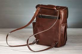 zinnia convertible leather backpack