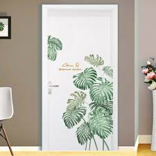 Diy Beach Tropical Palm Leaves Wall Stickers Modern Art Vinyl Decal Wall Mural For Sale Online