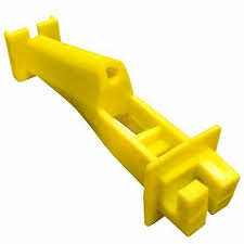 Woodex 5 Wp Wood Post Insulator Extender For Electric Fence 10 Bags Of 10 Ebay