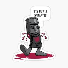 Flesh Wound Stickers Redbubble