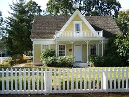 A Charming Little House With White Picket Fence Love Dream Exterior House Colors House Exterior Cottage Exterior