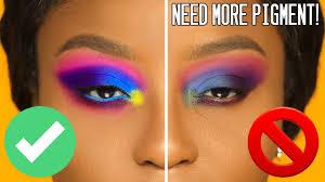 make eyeshadows pop on any skintone