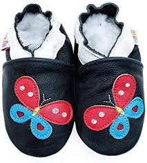 Amazon Com Gsch Moccasin Slippers For Kids Indoor For Kids Walking Shoes For Babies Room Shoes Child Socks First Learning Walking Shoes Round Toe Soft Leather Shoes Slippers