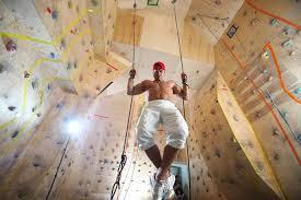 climbing as a business climbing wall