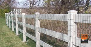 Vinyl Fences Cedar Rustic Fence Co